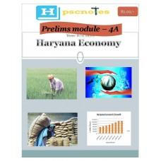 HPCS   PDF Module 4A Haryana Economy