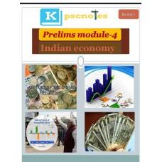 KPSC PDF Module 4 Indian Economy