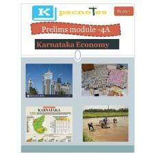 KPSC PDF Module 4A Karnataka Economy