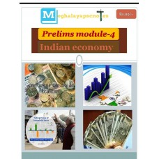 MEGHALAYA PDF Module 4 Indian Economy
