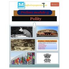 MEGHALAYA PDF Module 5 Polity
