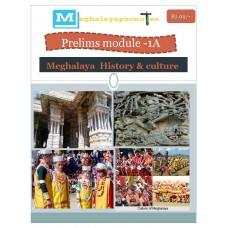 MEGHALAYA PDF Module 1A Meghalaya History