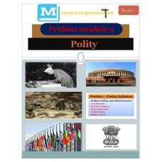 MIZORAM PDF Module 5 Polity