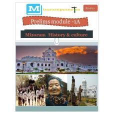 MIZORAM PDF Module 1A Mizoram History