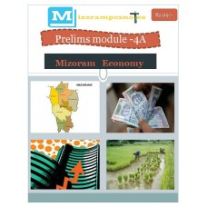 MIZORAM PDF Module 4A Mizoram Economy