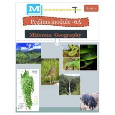 MIZORAM PDF Module 6A Mizoram Geography