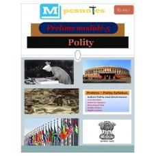 MPSC PDF Module 5 Polity