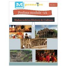 MPSC PDF Module 1A Maharastra History