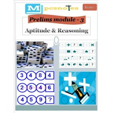 MPSC PDF Module 3 Aptitude and Reasoning