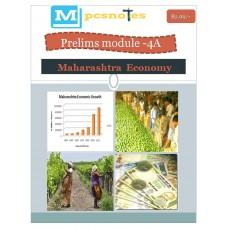 MPSC PDF Module 4A Maharastra Economy