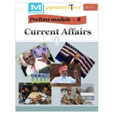 MPPCS  PDF Module 8 Current Affairs