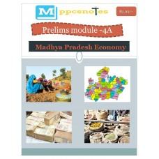 MPPCS  PDF Module 4A Madhya Pradesh Economy