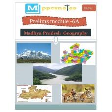 MPPCS  PDF Module 6A Madhya Pradesh Geography