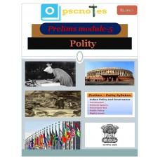 OPSC PDF Module 5 Polity