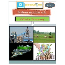 OPSC PDF Module 4A Odisha Economy