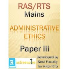 RAS Mains Module III E: Administrative Ethics