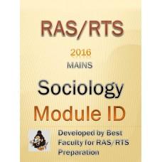 RAS Mains PDF Module 1D-Sociology