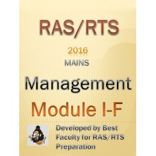 RAS Mains PDF Module 1F-Management