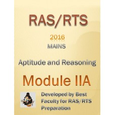 RAS Mains PDF Module IIA -Aptitude and Resoning