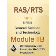 RAS Mains PDF Module IIB -General Science & Technology