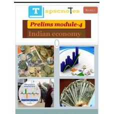 TSPSC PDF Module 4 Indian Economy