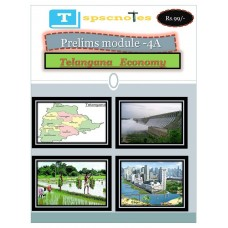 TSPSC PDF Module 4A Telangana Economy