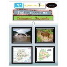TSPSC PDF Module 6A Telangana Geography