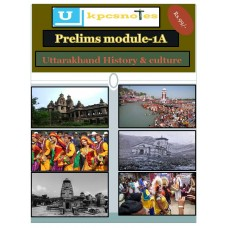 UKPCS PDF Module 1A Uttarakhand History