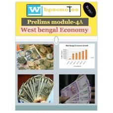 WBPSC  PDF Module 4A West Bengal  Economy