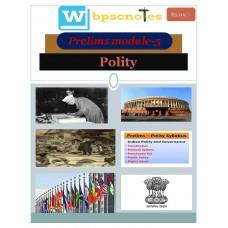 WBPSC  PDF Module 5 Polity