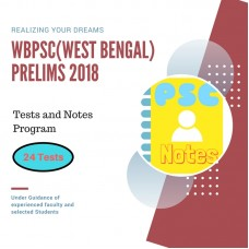 WBPSC Prelims Exam 2018- test-series and Notes Program